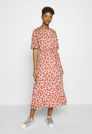 JDYSALLY MID CALF DRESS - Kjole - ash rose