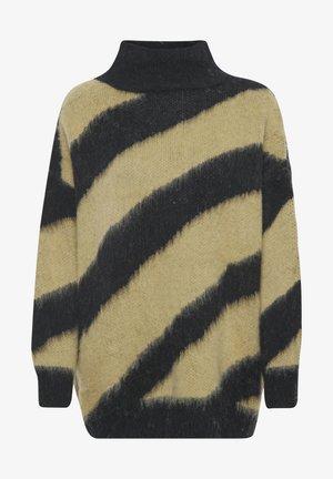Trui - lark and black stripe