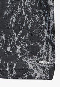 adidas Performance - DFB DEUTSCHLAND PRESHI Y - Print T-shirt - black/grey heather - 2