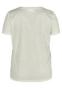 Zizzi - Basic T-shirt - off-white - 6