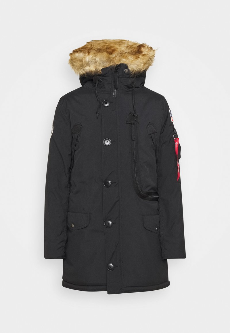 Alpha Industries - POLAR JACKET - Winter coat - black