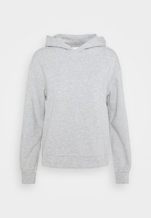 VIRUST HOODIE - Sweatshirt - light grey melange