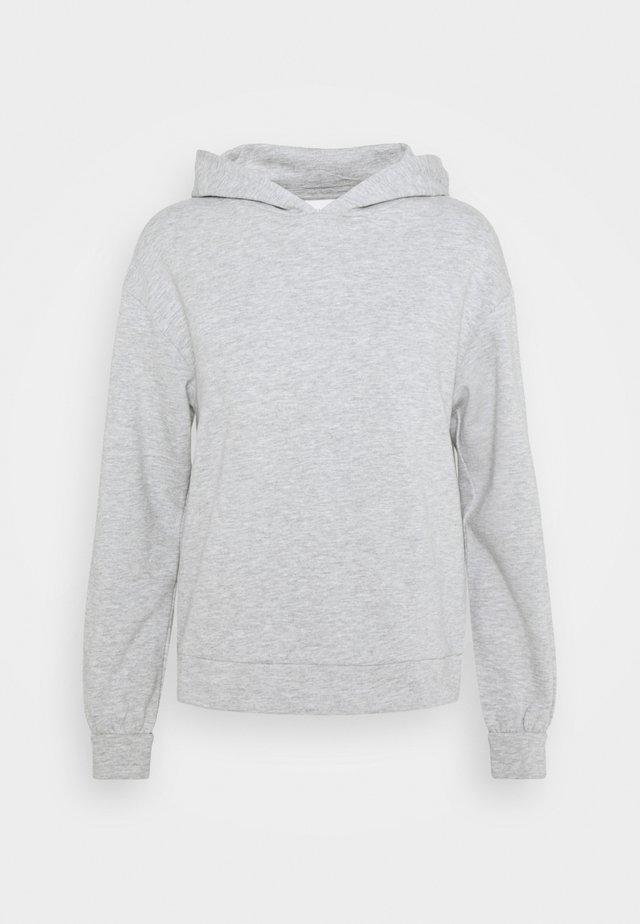 VIRUST HOODIE - Sweatshirt - light grey melange