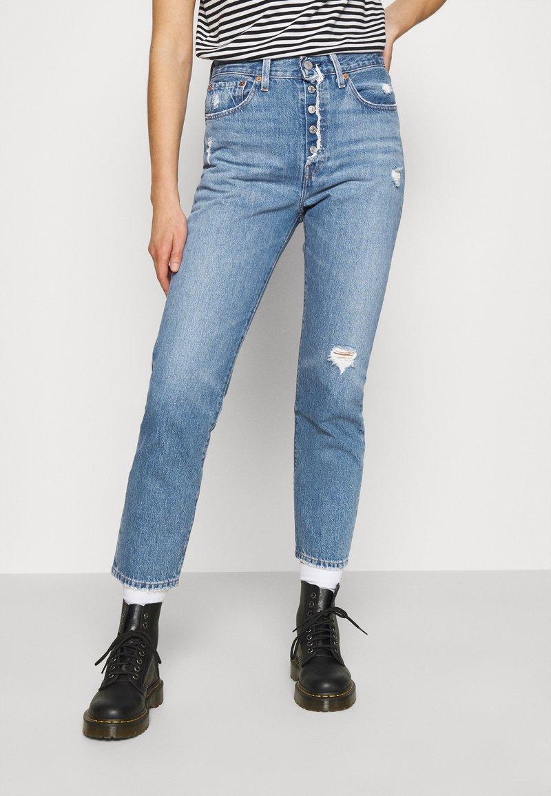 Levi's® - 501 CROP - Jeans straight leg - athens adventure