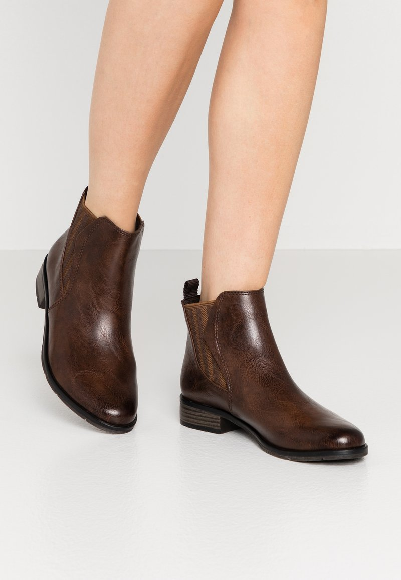 Marco Tozzi - Ankle boots - cafe antic
