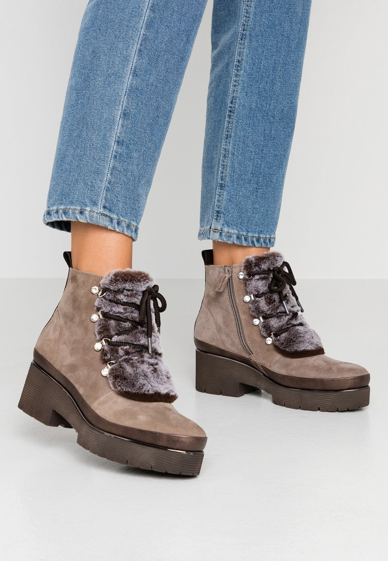 Tamaris Pure Relax - Ankle boots - taupe