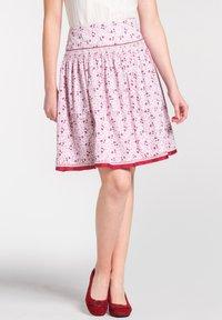 Spieth & Wensky - A-line skirt - light pink - 0