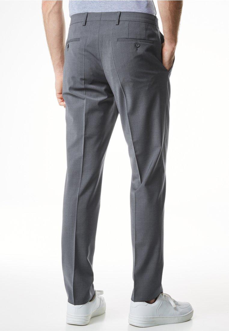 Excellent Vêtements homme Pierre Cardin MIT KLEINMUSTER  Pantalon classique light grey BPmryAP9