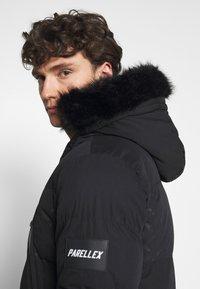 PARELLEX - LUNAR LONGLINE JACKET - Zimní kabát - black - 6