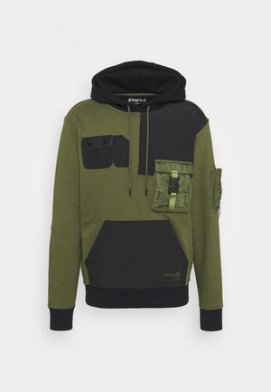 TACTICAL HOODIE - Jersey con capucha - olive