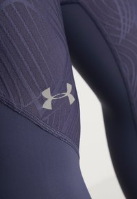 Under Armour - FLY FAST CROP - 3/4 sports trousers - blue ink - 3