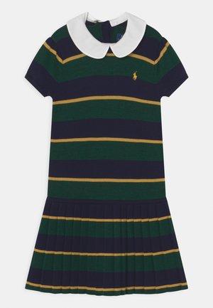 DAY DRESS - Jumper dress - navy/multi-coloured