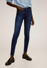 Mango - KIM - Jeans Skinny Fit - donkerblauw - 0
