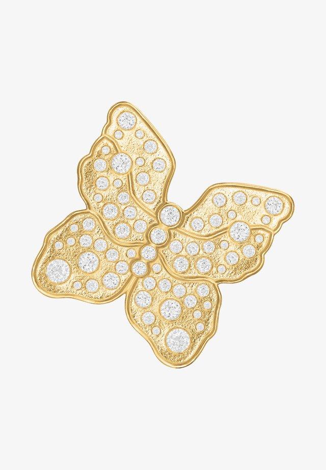 Single earring - The Butterfly - Øreringe - gold