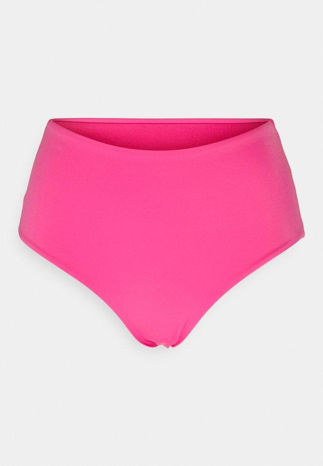 AVA HIGHWAIST SWIM BOTTOM - Dół od bikini - bright pink
