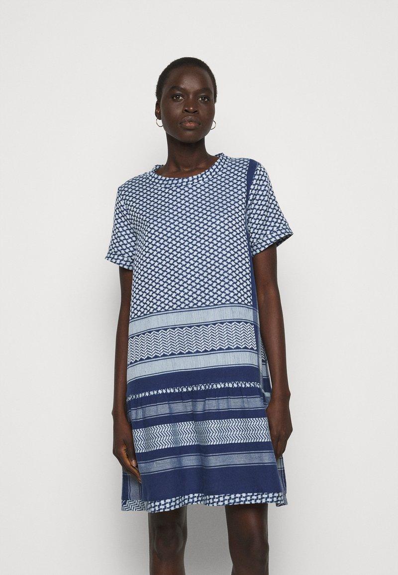 CECILIE copenhagen - DRESS - Vapaa-ajan mekko - twilight blue