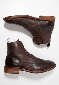 Cordwainer - Lace-up ankle boots - dark brown - 1
