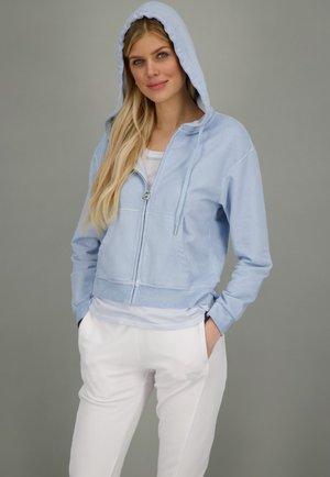 SOHO  - Zip-up sweatshirt - water
