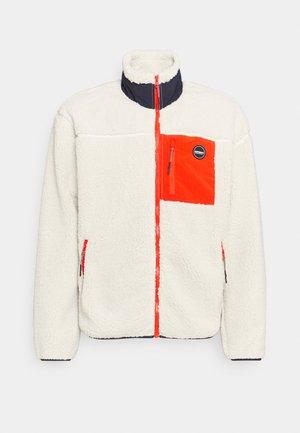 ASPEN - Fleece jacket - natural white