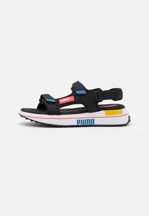 FUTURE RIDER UNISEX - Walking sandals - black/star sapphire/poppy red