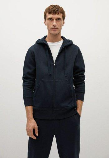 BADY - Zip-up hoodie - dunkles marineblau
