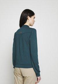 Ragwear - KENIA - Cardigan - dark green - 2
