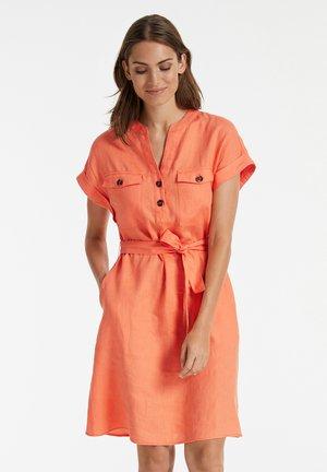 Day dress - papaya