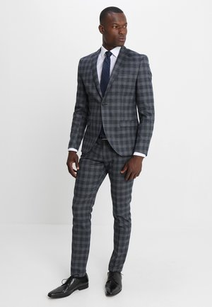 SHDZERO TADOTTO CHECK SUIT - Suit - navy