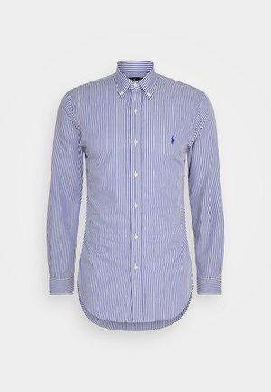 NATURAL - Shirt - navy/white
