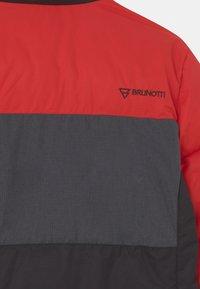 Brunotti - TRYJAILY BOYS SNOW - Snowboardová bunda - flame red - 3