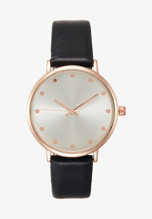 Hodinky - black/rose gold-coloured