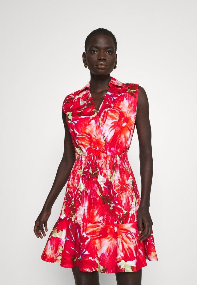 NORA BRUSHSTROKE DRESS - Cocktail dress / Party dress - pink multi