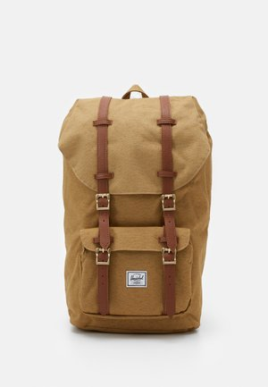LITTLE AMERICA - Rucksack - coyote slub