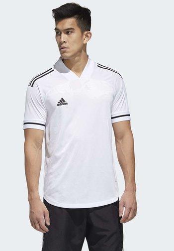 CONDIVO 20 PRIMEGREEN JERSEY - T-shirt imprimé - white