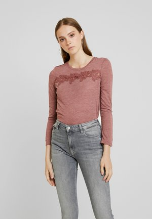 ONLCAMERA - T-shirt à manches longues - apple butter melange