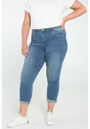 JEANS LOUISE 7/8  - Slim fit jeans - denim