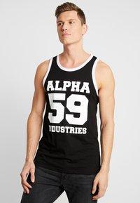 Alpha Industries - Top - black - 0