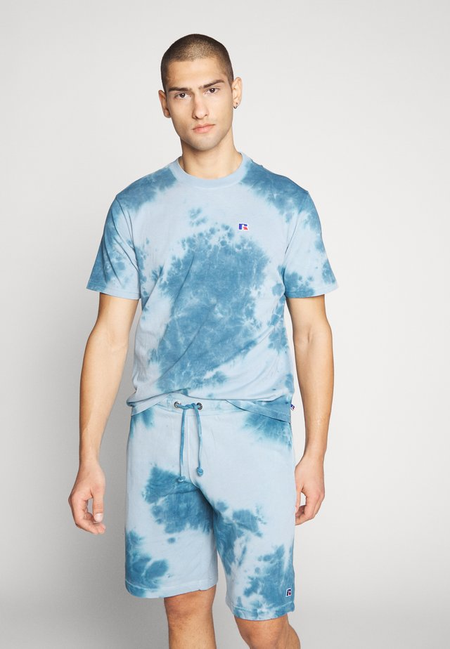 ROCK - T-shirt con stampa - copen blue