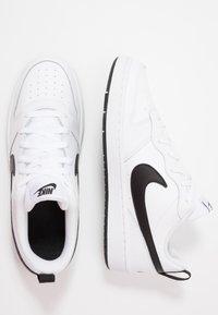 Nike Sportswear - COURT BOROUGH 2  - Sneakers basse - white/black - 1