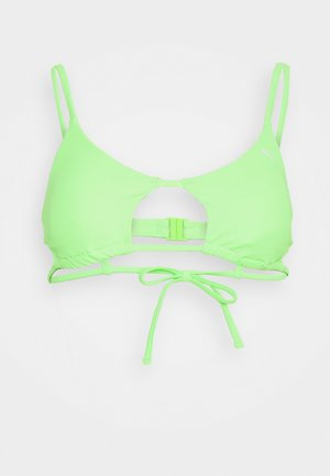SWIM WOMEN PEEK A BOO - Bikinitop - neon green