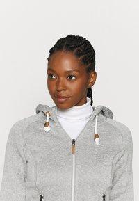 Icepeak - AUBURN - Fleece jacket - grey - 3