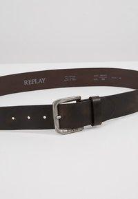 Replay - Pasek - black brown - 4