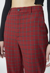 PULL&BEAR - Trousers - red - 4