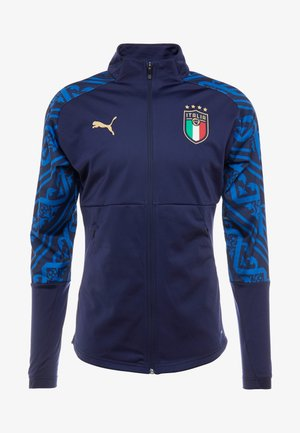 ITALIEN FIGC PREMATCH AWAY JACKET - Träningsjacka - peacoat team power blue
