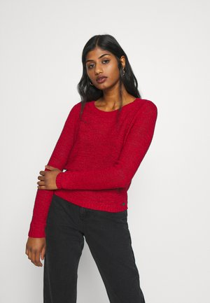 ONLGEENA - Strickpullover - chili pepper
