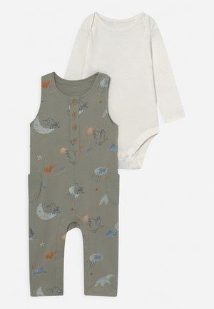BABY SET - Longsleeve - green