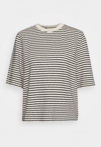 Marc O'Polo - BOXY CROPPED STRIPED - Print T-shirt - multi/raw sand - 3