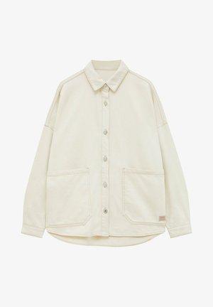 Džínová bunda - mottled beige