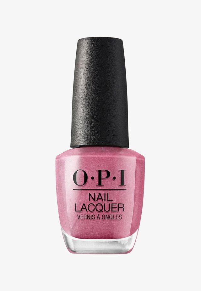 NAIL LACQUER - Nagellack - nls 45 not so bora-bora-ing pink