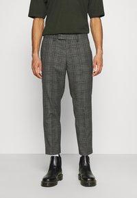 AllSaints - BENNETT TROUSER - Trousers - grey marl - 0